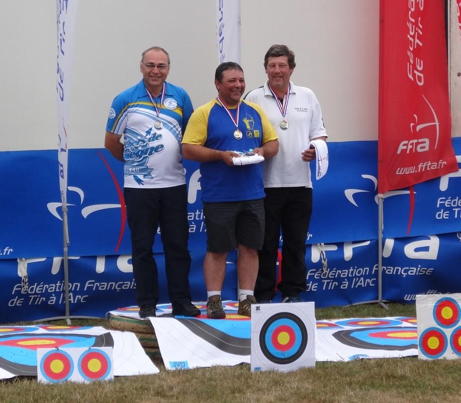 Championnat de France FITA - Vétéran : Le bronze pour Pascal GERVAISE