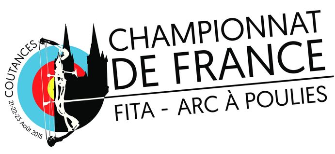 Logo France FITA 2015 COUTANCES web